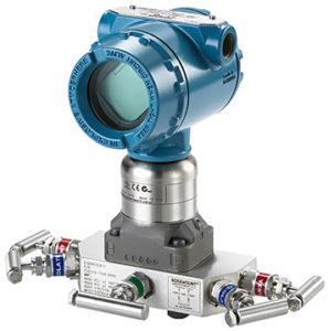 Coplanar Differential Pressure Transmitter 3051S1CD3A2F12A2AB1E5