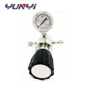 two stages high pressure regulator valve