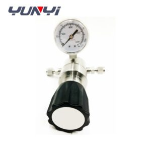 Stainless steel adjustable pressure regulator