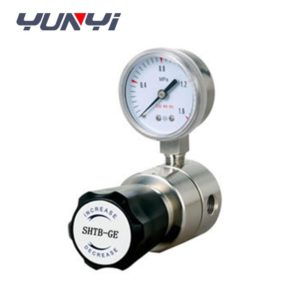 pressure relief valve with gauge