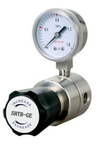 pressure gauge and regulator