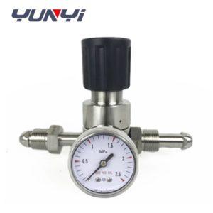 pneumatic back pressure regulator