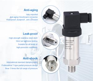 pressure transmitter range