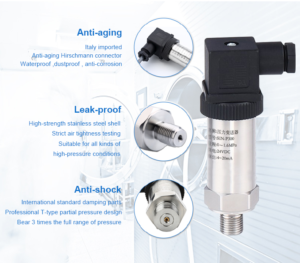 hydrostatic pressure transducer